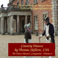 Country Dances By Thomas Skillern, 1781